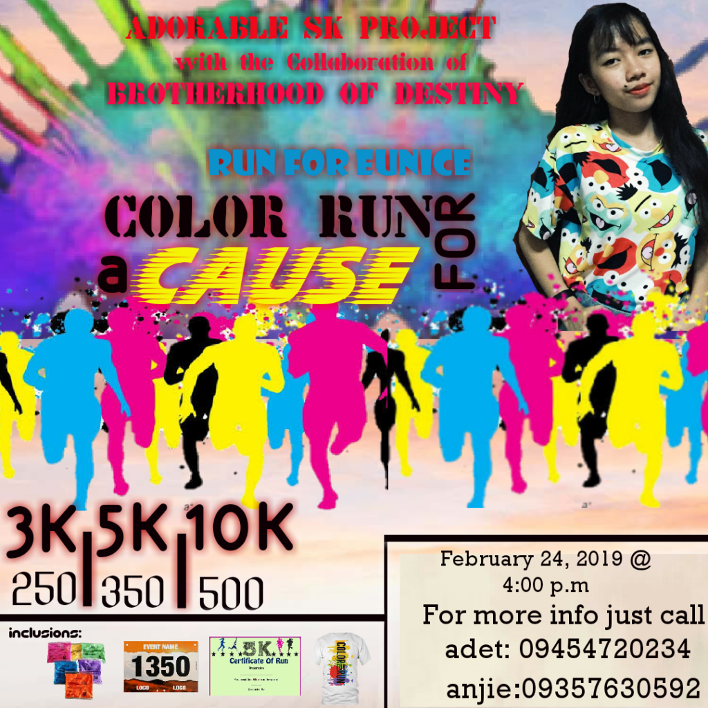 Run for Eunice Color Fun Run for a Cause